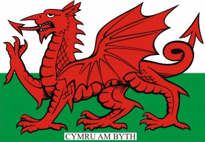 Welsh Flag - Dragon