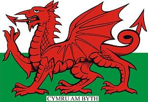 Welsh Flag - Dragon